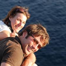 Profil Pengguna Franziska + Michael