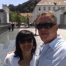 Perfil do utilizador de Danilo & Irena