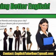 EnglishTutor User Profile