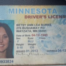 Betsy User Profile