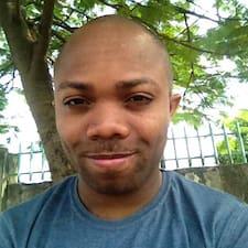 Blaise felhasználói profilja
