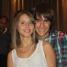 Henkilön Analía käyttäjäprofiili