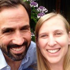Nathalie & André je domaćin.