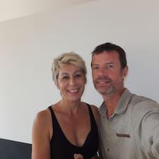 Catherine & Franck je domaćin.