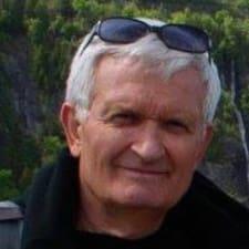 Perfil do utilizador de Jean-François