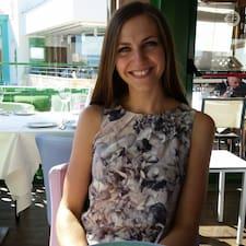 Yulia felhasználói profilja