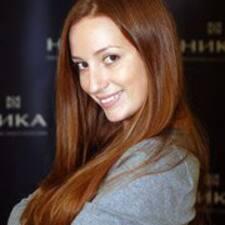 Perfil do utilizador de Ksenia