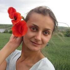 Henkilön Daria käyttäjäprofiili
