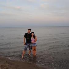 Profil utilisateur de Oksana And Dmitriy