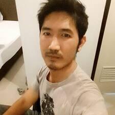 Perfil do utilizador de Piyapong
