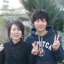Motoki & Harumi ist der Gastgeber.