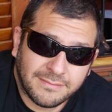 Gastón felhasználói profilja