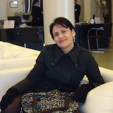 Profil utilisateur de Cláudia