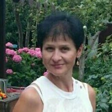 Lyudmila ist der Gastgeber.