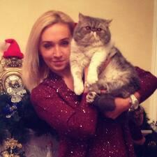 Iryna ist der Gastgeber.
