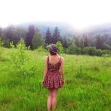 Khrystyna felhasználói profilja