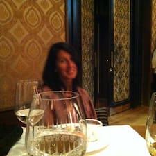 Theresa ist der Gastgeber.