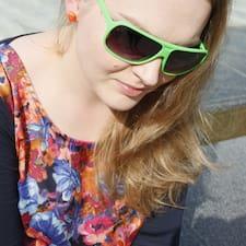 Justyna felhasználói profilja