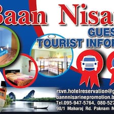 Baan Nisarine is the host.