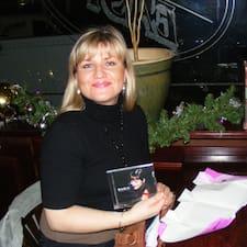 Agnieszka is the host.
