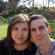 Användarprofil för Matthieu & Nathalie
