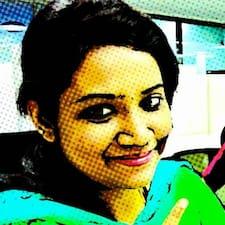Bharghavi felhasználói profilja