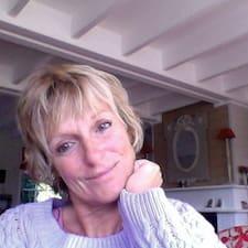 Brigitte je domaćin.