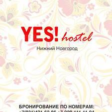 YES!Hostel User Profile