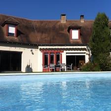 Mr & Mme Choquet是房东。