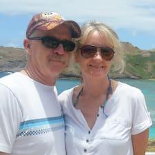 Henkilön John & Susan käyttäjäprofiili