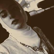 Amina felhasználói profilja