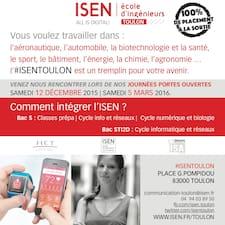 ISEN Toulon的用戶個人資料