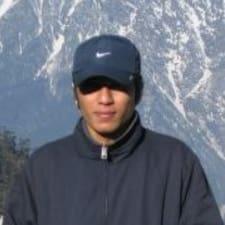 Henkilön Pranav käyttäjäprofiili