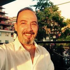 Ahmet is the host.