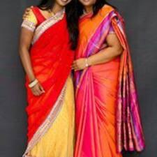 Användarprofil för Geetha