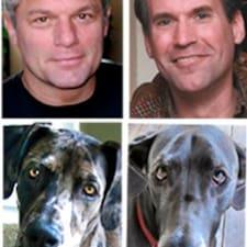 Keith, Jim, Puppet & Buddy