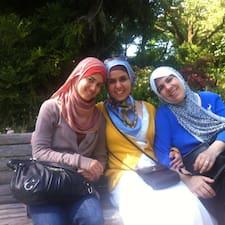 Najwa felhasználói profilja