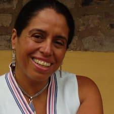 Maria Fernanda est l'hôte.