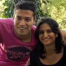 Profilo utente di Abhishek & Chitra