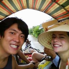 โพรไฟล์ผู้ใช้ Tuan & Valentina