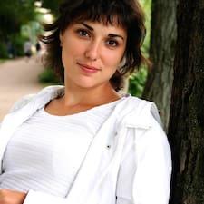 Profil utilisateur de Ksenia