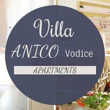 Anico Apartments felhasználói profilja