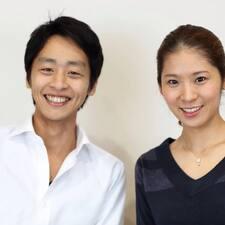 Makoto is the host.