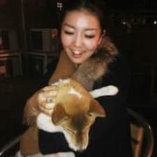 Mariko felhasználói profilja