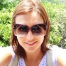 Lúcia felhasználói profilja