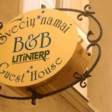 Litinterp Vilnius Guest House是房东。