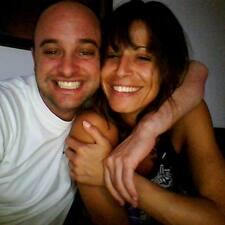 Christophe & Sandra är en värd.