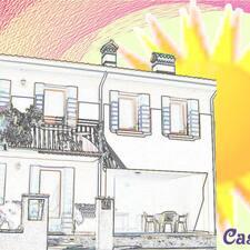 Fabrizia ist der Gastgeber.