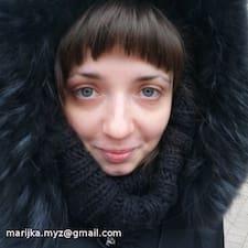 Maryia User Profile