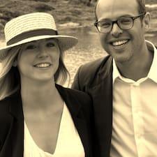 Nutzerprofil von Charlotte & Jean-Christophe